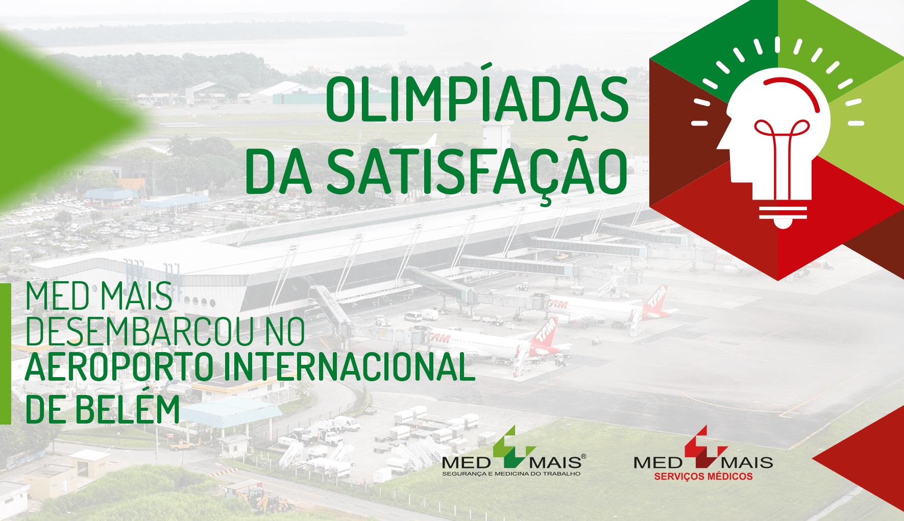 Med Mais desembarca no Aeroporto Internacional de Belém