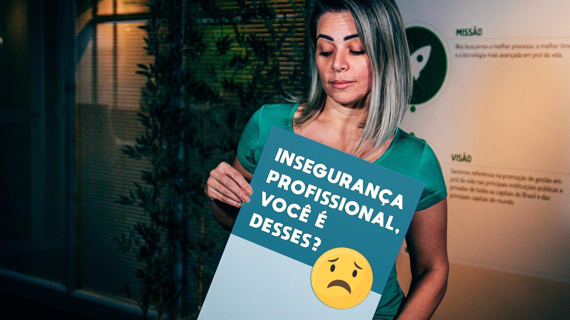 Como a insegurança profissional pode afetar a carreira?