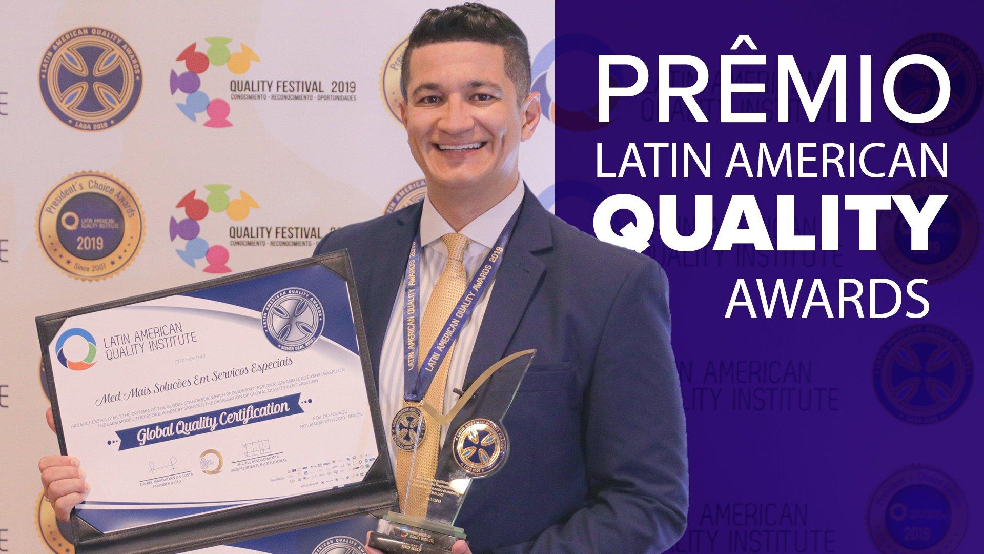 Grupo Med Mais conquista prêmio internacional de Qualidade
